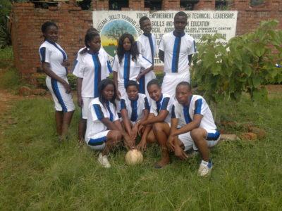 Jugendliche Fussballmanschaft