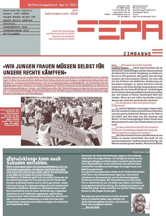 fepa Mitteilungsblatt Mai 2017