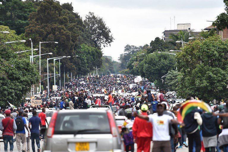 simbabwe nach Mugabe
